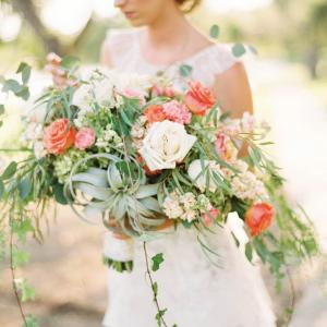 austin wedding day magazine spring/summer 2018 featured bouquet
