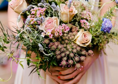 wildflower style bouquet