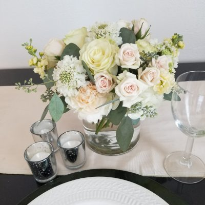 flor amor boho dreams wedding floral package featuring white, cream, and blush flowers