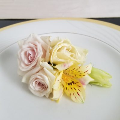 timeless romance corsage