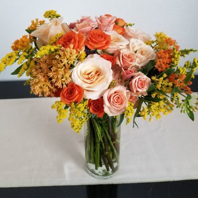 Wonderfully Whimsical bridal bouquet