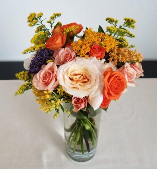 Wonderfully Whimsical bridesmaid bouquet