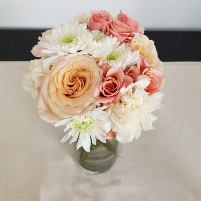 Classic Charm bridesmaid bouquet