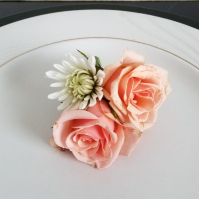 Classic Charm boutonniere