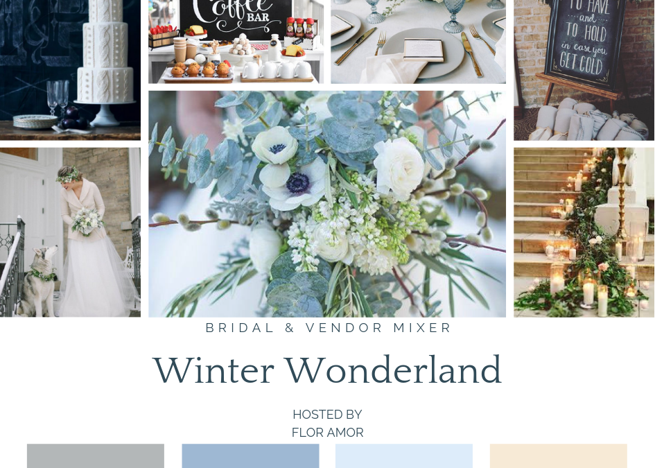 Winter Wonderland Mood Board