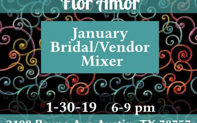 Modern Whimsy Bridal Vendor Mixer