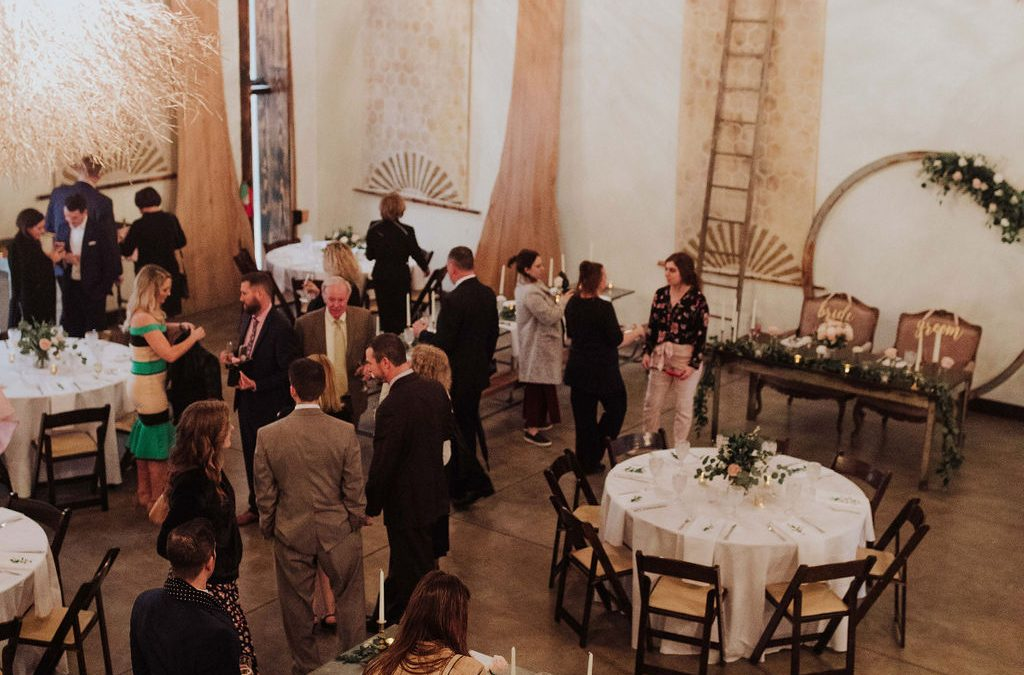 unplugged wedding reception