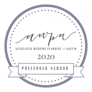 awpa associated wedding planners of austin preferred vendor 2020 logo